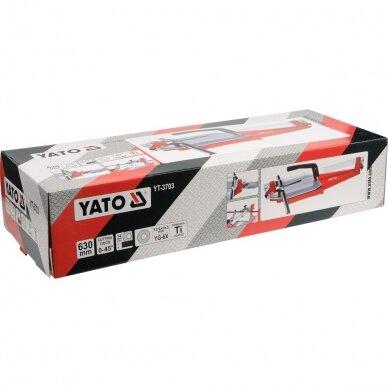 Plytelių pjaustymo staklės Yato 630mm, YT-3703 3