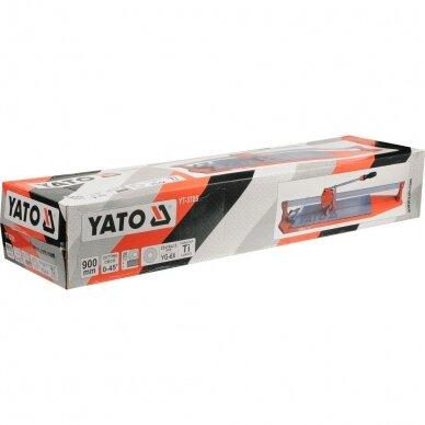 Plytelių pjaustymo staklės Yato 900 mm, YT-3705 2