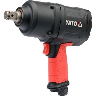 """Pneumatinis veržliasukis Yato 1630 Nm, 3/4"""""""