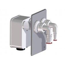 Potinkinis sifonas HL4000.2 nuotekų pajungimui iš 2 įrenginių