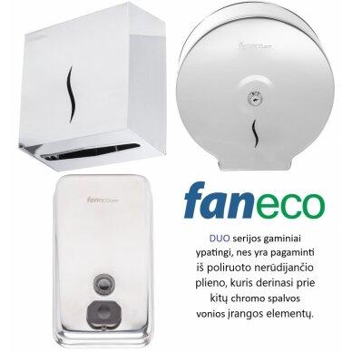 Popierinių rankšluosčių lapeliais laikiklis Faneco DUO 3