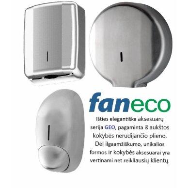 Popierinių rankšluosčių lapeliais laikiklis Faneco Geo 3