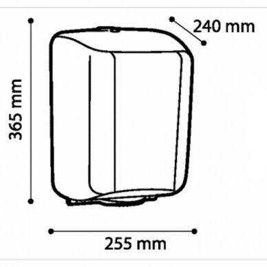 Popierinių rankšluosčių ritinėliais laikiklis Faneco MIDI ZEN 2