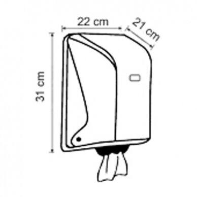 Popierinių rankšluosčių ritinėliais laikiklis Faneco POP 3