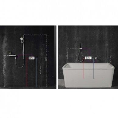 Potinkinė dėžutė termostatiniam maišytuvui Axor One 4