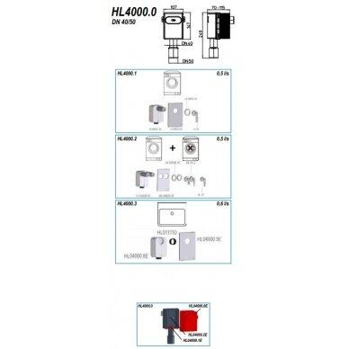 Potinkinio sifono montažinis komplektas HL4000.0 3