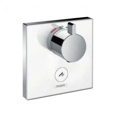 Potinkinis dušo maišytuvas Hansgrohe ShowerSelect glass 1