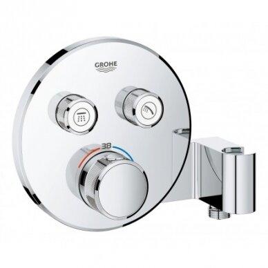 Potinkinis termostatinis dušo komplektas Grohe SmartControl 260 3