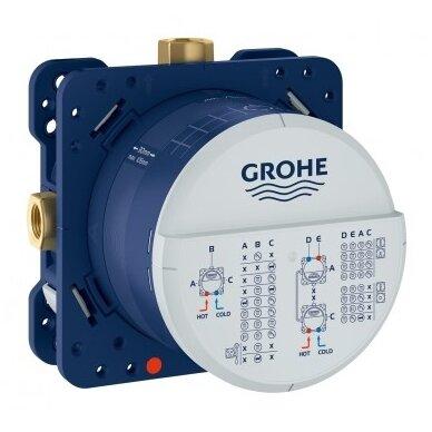 Potinkinis termostatinis dušo komplektas Grohe SmartControl 260 4
