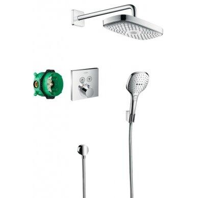 Potinkinis dušo komplektas Hansgrohe Raindance Select E