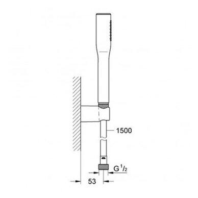Potinkinis termostatinis komplektas Grohe SmartControl 310 14