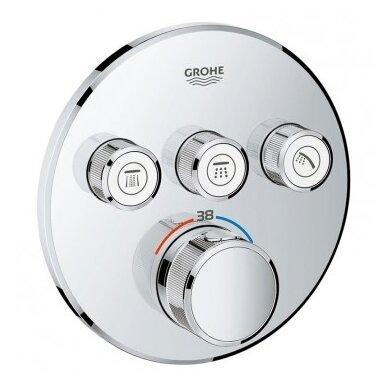 Potinkinis termostatinis komplektas Grohe SmartControl 310 5