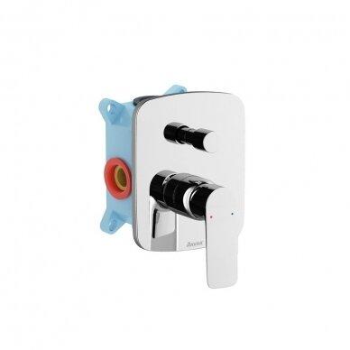 Potinkinis vonios/dušo maišytuvas Ravak Classic, skirtas R-box