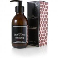Kondicionuojantis Edwin Jagger barzdos ir ūsų šampūnas (santalmedžio aromato), 200ml