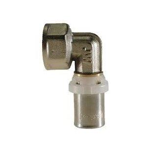 Presuojama jungtis Kermi 90 laipsnių 16 mm ½