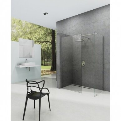 Prabangi dušo kabina Ravak Walk-in Double Wall, 60 - 160 cm 2