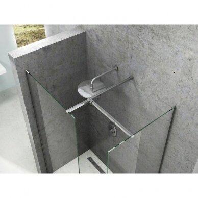 Prabangi dušo kabina Ravak Walk-in Double Wall, 60 - 160 cm 4