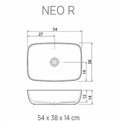 Praustuvas Balteco Neo R 54 cm 3