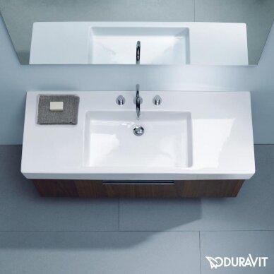 Praustuvas Duravit Vero 125 cm 3