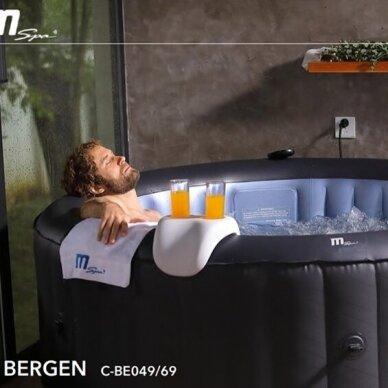 Pripučiamas Spa baseinas Mspa Comfort Bergen