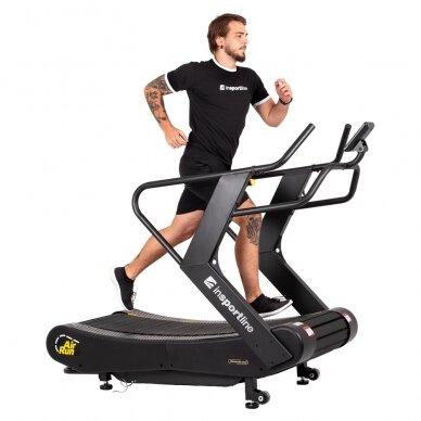 Profesionalus bėgimo / ėjimo mechaninis takelis inSPORTline Air-Run (iki 180kg) 4