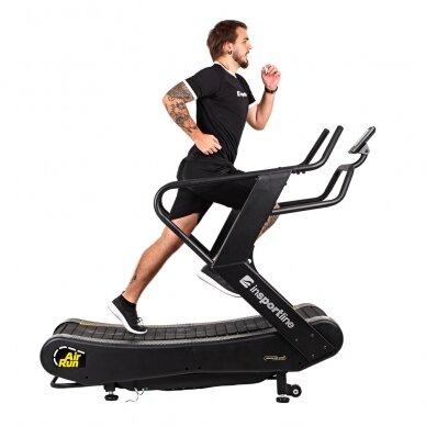 Profesionalus bėgimo / ėjimo mechaninis takelis inSPORTline Air-Run (iki 180kg) 5