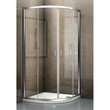 Pusapvalė dušo kabina Riho Hamar 2.0 80, 90, 100 cm