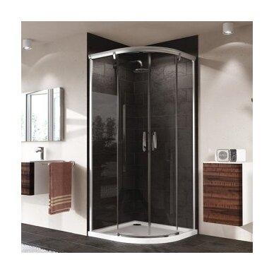 Pusapvalė dušo kabina Huppe Aura Elegance 2