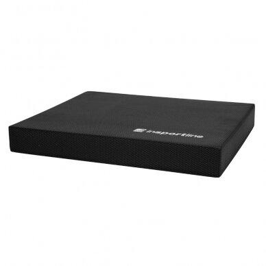 Pusiausvyros pakyla InSPORTline Brik 48x40x6,2 cm - Black
