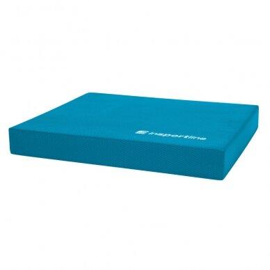 Pusiausvyros pakyla InSPORTline Brik 48x40x6,2 cm - Blue