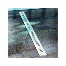 Ravak nutekamieji latakai - išryškina grindų ir sienų plytelių grožį.