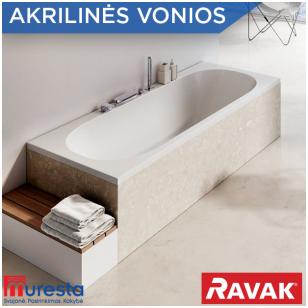 Ravak vonios iš lieto akrilo – kokybė ir dizainas