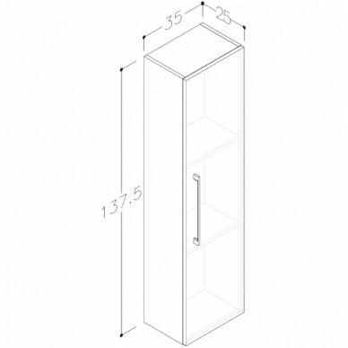 Vonios baldų komplektas Allegro 90 6