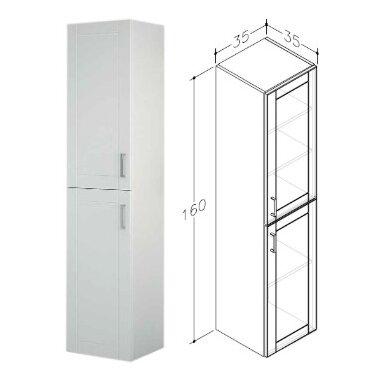 Vonios baldų komplektas Eternal 85 3 dalių 6