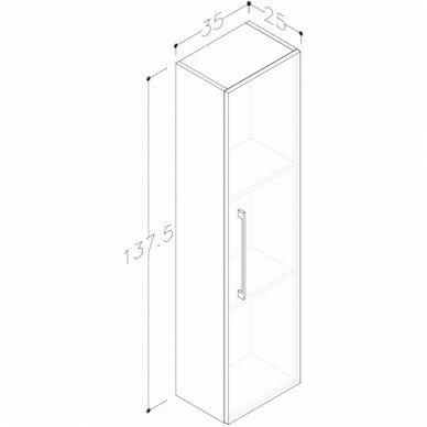 Vonios baldų komplektas Scandic 60 7