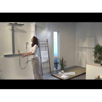 Dušo sistema su termostatiniu maišytuvu Hansgrohe Rainmaker Select 400 3jet 5