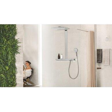 Dušo sistema su termostatiniu maišytuvu Hansgrohe Rainmaker Select 400 3jet 6