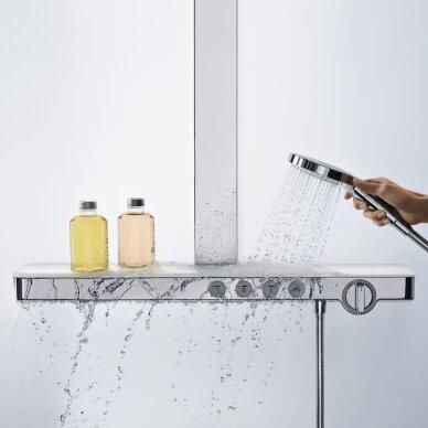 Dušo sistema su termostatiniu maišytuvu Hansgrohe Rainmaker Select 400 3jet 3