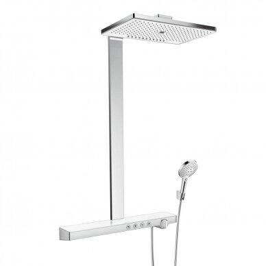 Dušo sistema su termostatiniu maišytuvu Hansgrohe Rainmaker Select 400 3jet