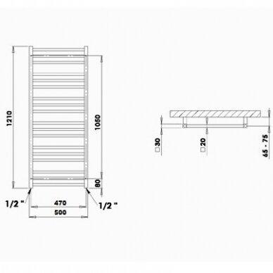 Rankšluosčių džiovintuvas PMH Avento AV3C 2