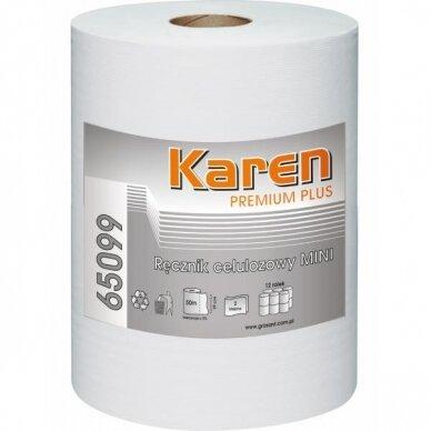 Rankšluostinis popierius Karen Premium Mini