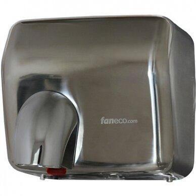 Rankų džiovintuvas Faneco SOLANO 2500 W, satinas