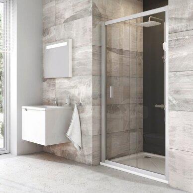 Ravak Dušo durys Blix BLDP2 100, 110, 120 cm