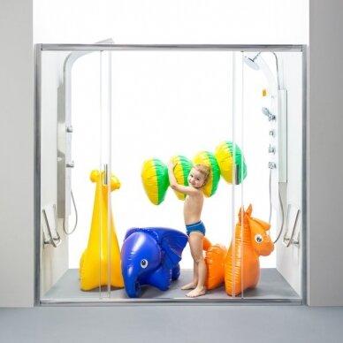 Dušo durys Ravak Blix BLDP4 120, 130, 140, 160, 170, 180, 190, 200 cm 2