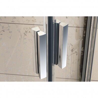 Komplektas: dušo kabina Ravak Blix BLCP4-90 + padėklas + sifonas 4