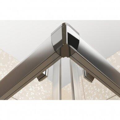 Komplektas: dušo kabina Ravak Blix BLCP4-90 + padėklas + sifonas 6