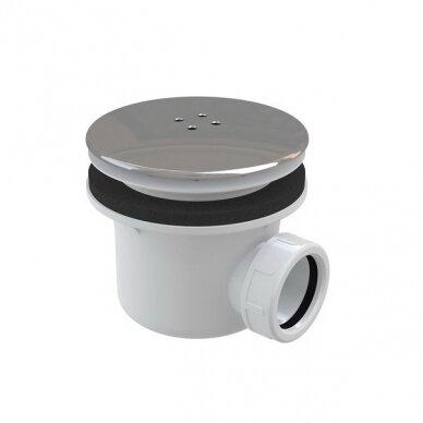 Komplektas: dušo kabina Ravak Blix BLCP4-90 + padėklas + sifonas 7