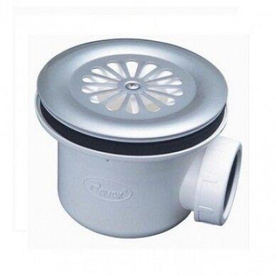 Komplektas: dušo kabina Ravak SKCP4 80, 90 cm + padėklas + sifonas 8