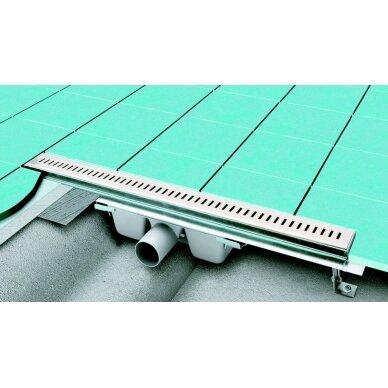 Nutekamasis dušo latakas Ravak Runway (30, 75, 85, 95,105 cm) 4