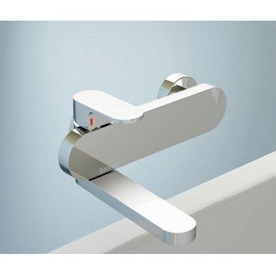 Ravak sieninis vonios/dušo maišytuvas Chrome 150 mm (kairinis) 4